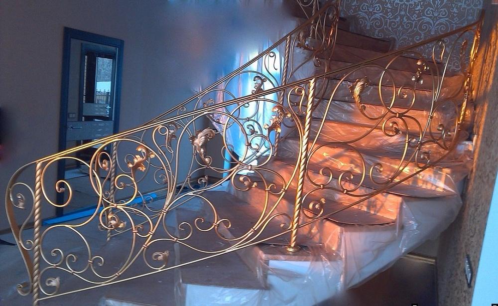 подборка красивые кованые перила фото ваш выбор